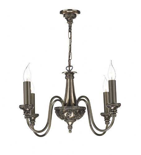 Bailey 4 Light Chandelier Bronze BAI0463